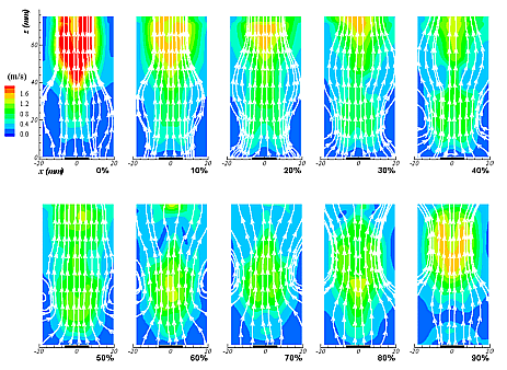 Image of flow characterization
