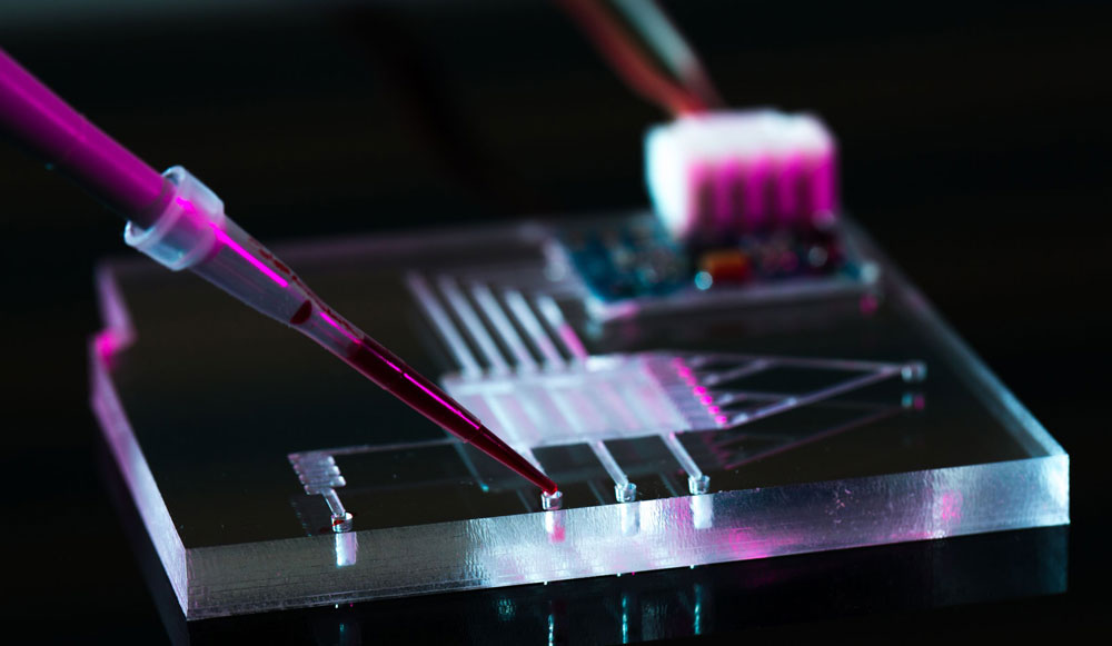 image of Microfluidics