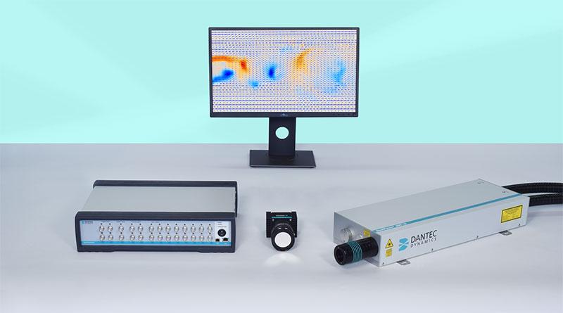 Image of 2D2C Planar PIV test system